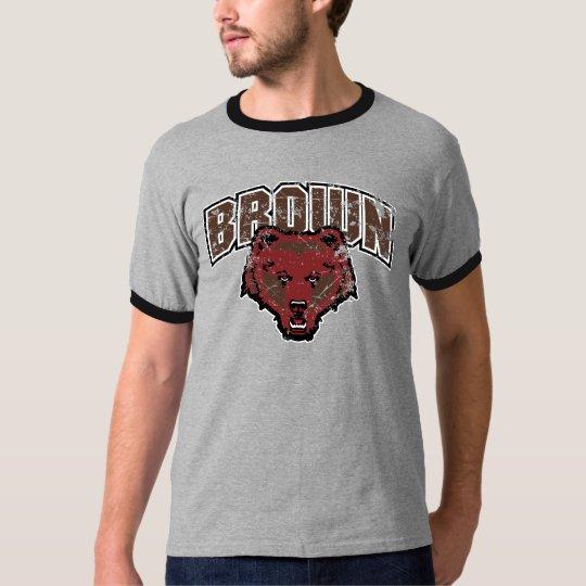 Brown Bear Logo Vintage T-Shirt