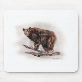 Brown Bear Mouse Pads