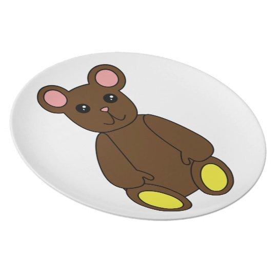 Brown Bear Plate