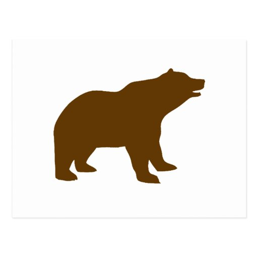 BROWN BEAR POST CARDS