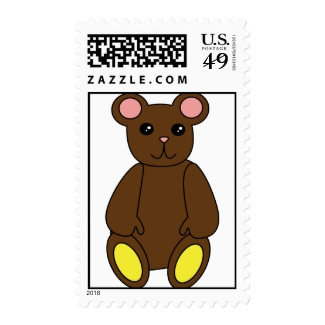 Brown Bear Postage