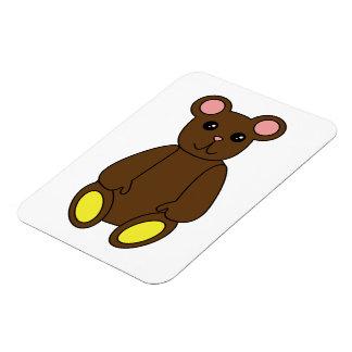Brown Bear Premium Magnet