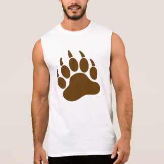 Brown Bear Pride Bear Claw (L) Sleeveless Shirt