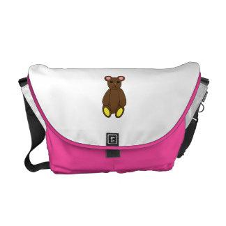 Brown Bear Rickshaw Messenger Bag