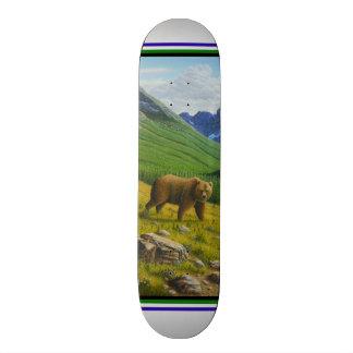 Brown Bear Skateboard Deck