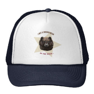 'Brown Bear' Trucker Hat