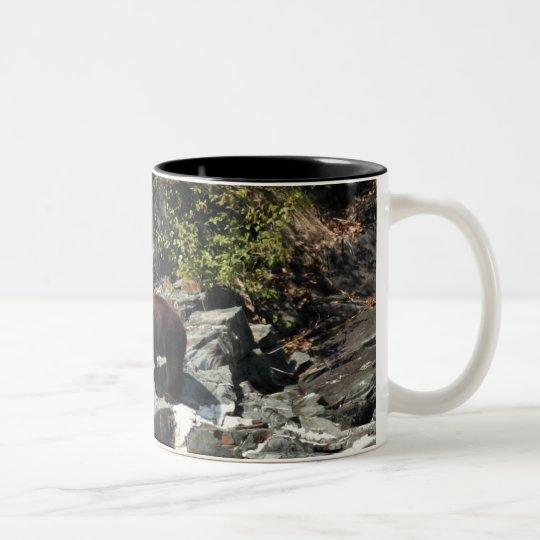 Brown Bear Two-Tone Coffee Mug