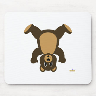 Brown Bear Upside Down Mouse Pad