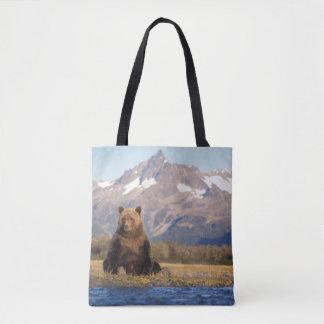 brown bear, Ursus arctos, grizzly bear, Ursus Tote Bag
