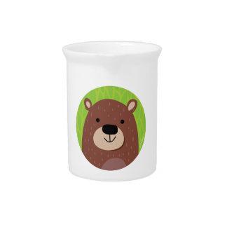 Brown Bear - Woodland Friends Beverage Pitcher