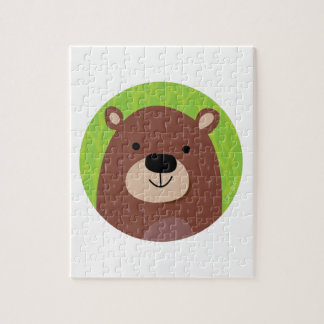 Brown Bear - Woodland Friends Jigsaw Puzzle