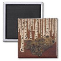 brown bears magnet