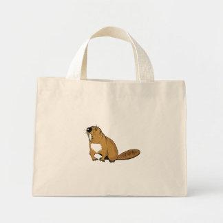 Brown Beaver Bag