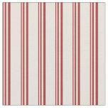 [ Thumbnail: Brown & Beige Stripes Fabric ]