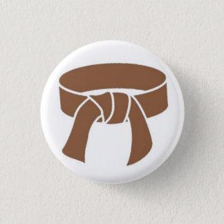 Brown Belt Button
