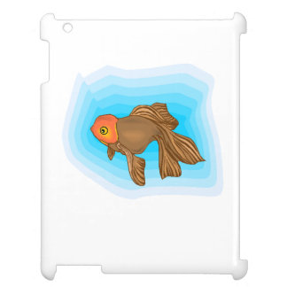 Brown Betta Fish Cover For The iPad