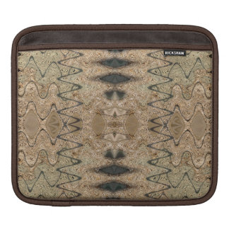 brown biege western pattern sleeve for iPads