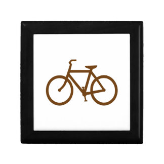 Brown Bike Jewelry Box