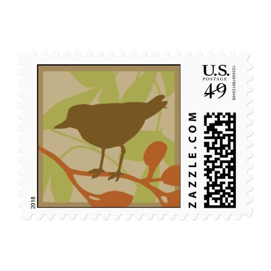 Brown Bird Postage