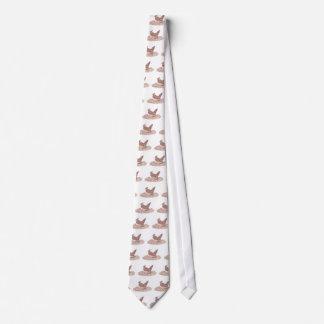 Brown Bird Tie