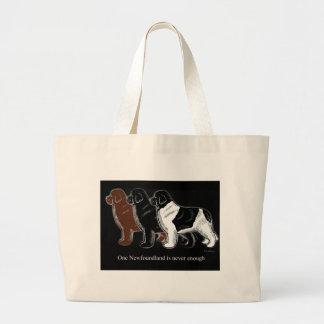 Brown Black and Landseer Newfoundland items Bag