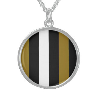 Brown Black And White Stripes Pendants