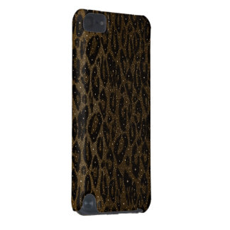 Brown Black Cheetah Stars iPod Touch (5th Generation) Case