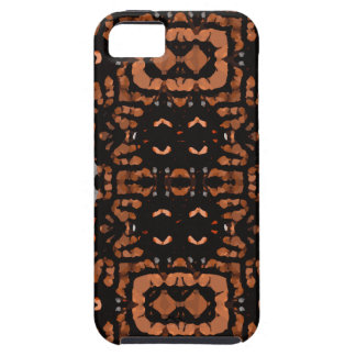 Brown Black Grey Abstract Pattern iPhone SE/5/5s Case