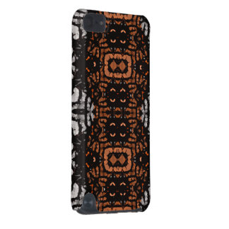 Brown Black Grey Abstract Pattern iPod Touch 5G Cover