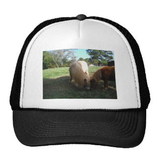 "Brown Blond,"" Miniature Horses""Two Little Ponies Trucker Hat"