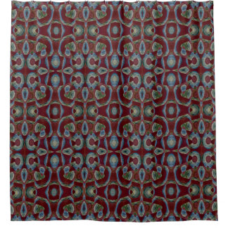 Blue And Brown Shower Curtains Zazzle