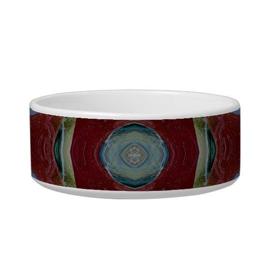 Brown Blue Mosaic Bowl