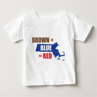 Brown + Blue = Red Baby T-Shirt