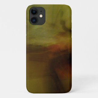 Brown Blur Background iPhone 11 Case