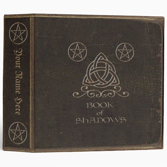 Brown Book of Shadows Binder