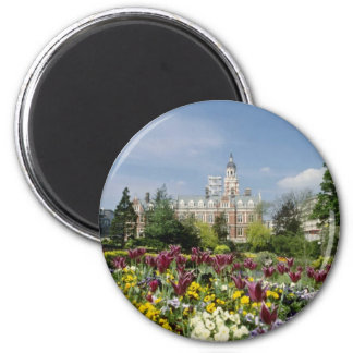 Brown Botanical gardens, Funchal, Madeira flowers 2 Inch Round Magnet