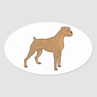 brown-boxer cartoon.png oval sticker