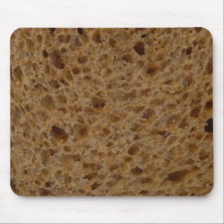 Brown bread mouse pad