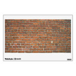 Brown Brick Texture Room Stickers