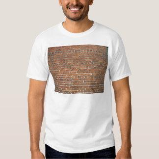 Brown Brick Texture T Shirt