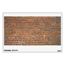 Brown Brick Texture Wall Decal
