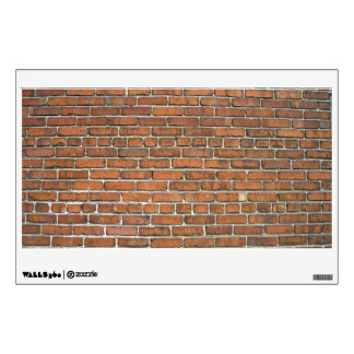 Brown Brick Texture Wall Decal Part 62