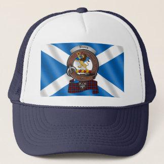 Brown/Broun Clan Badge Trucker Hat