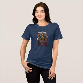 Brown/Broun Clan Badge Women's Dark T-Shirt