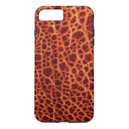 Brown Bullfrog Skin iPhone 8 Plus/7 Plus Case