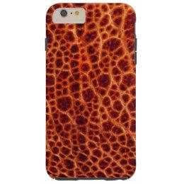 Brown Bullfrog Skin Tough iPhone 6 Plus Case