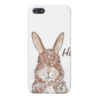 Brown Bunnie iPhone cases