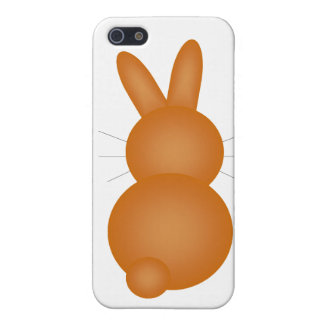 Brown Bunny Back iPhone 5 Covers