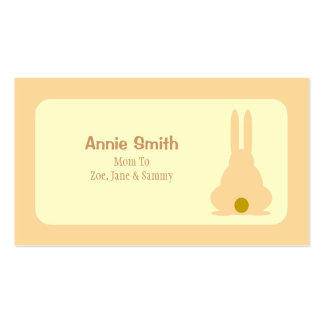 Brown Bunny Business Card