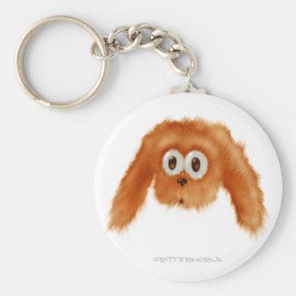 Brown Bunny Critter Keychain